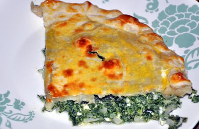 Tourte épinards-feta
