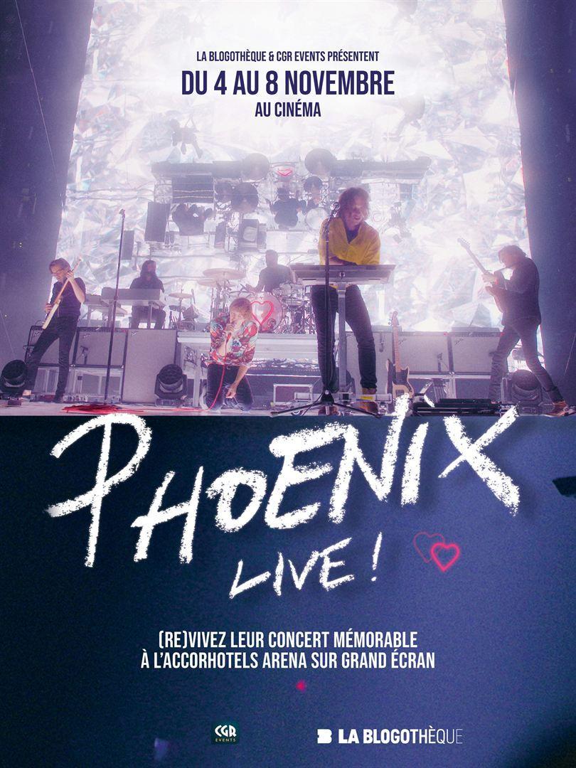 PHOENIX, le concert sur grand écran (BANDE-ANNONCE) du 4 au 8 novembre 2020 au cinéma