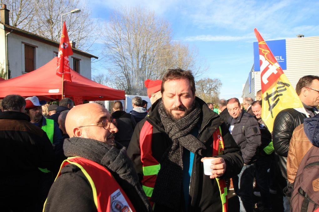 16.01.2020 Très belle manifestation retraite au Mans!