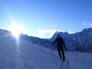 Ski de rando : Pointe de Vouasson 3490 m
