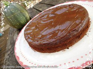 Gâteau healty chocolat et courgette