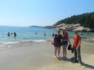 La seule plage de sable fin