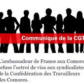 Répression syndicale : l'ambassadeur de France aux Comores impliqué! - Front Syndical de Classe