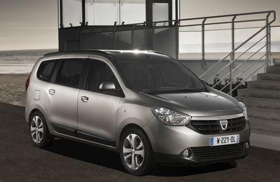 Genève 2012 : Dacia Lodgy, le monospace low cost