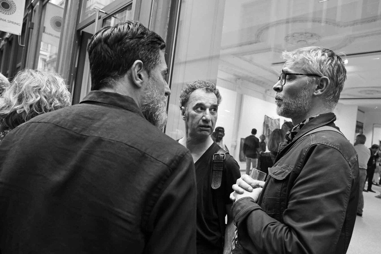 Franck Chalendard, Patrick Condouret, Rémy Jacquier