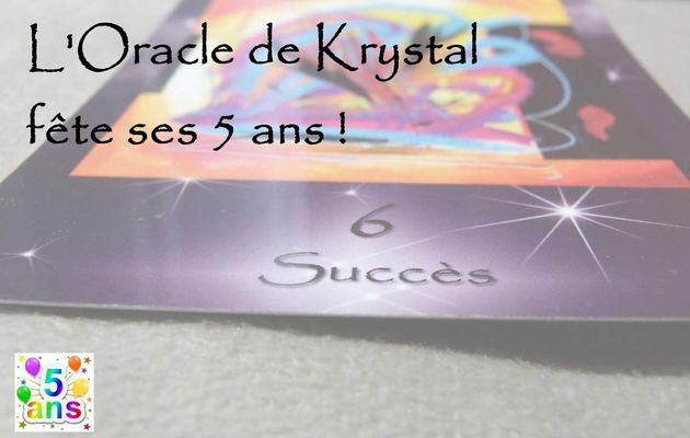 L'Oracle de Krystal fête ses 5 ans !