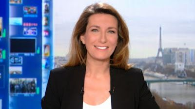 ANNE-CLAIRE COUDRAY - TF1 - LE 13H