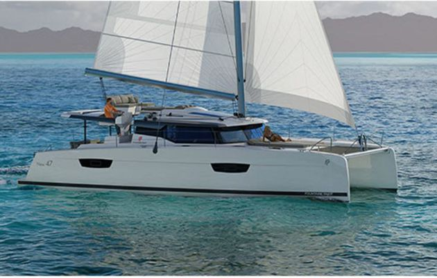 Salon International du Multicoque - Fountaine-Pajot dévoile le Saona 47