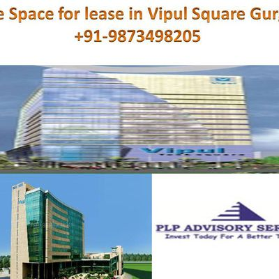 Commercial office space for lease in vipul square gurgaon:9873498205