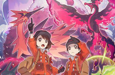 La deuxième extension de Pokemon Bouclier et épée sort aujourd'hui