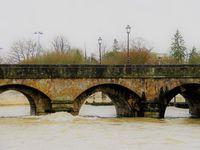 Forte crue à Niort