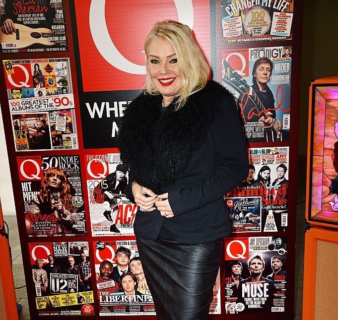 Kim Wilde - Gold Badge Awards et Q Awards 2015