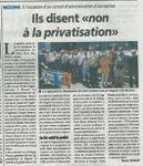 """Ils disent """"Non à la privatisation d'AB-Habitat"""""""