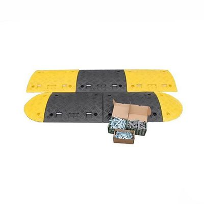 Recycling Plastic Speed Bumps and Parking Stops