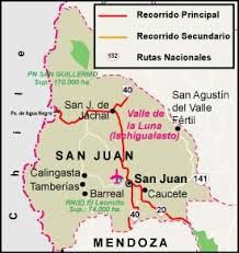 The region of San Juan and the Vine