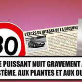Et si on interdisait les voitures sportives ? - Palais-de-la-Voiture.com
