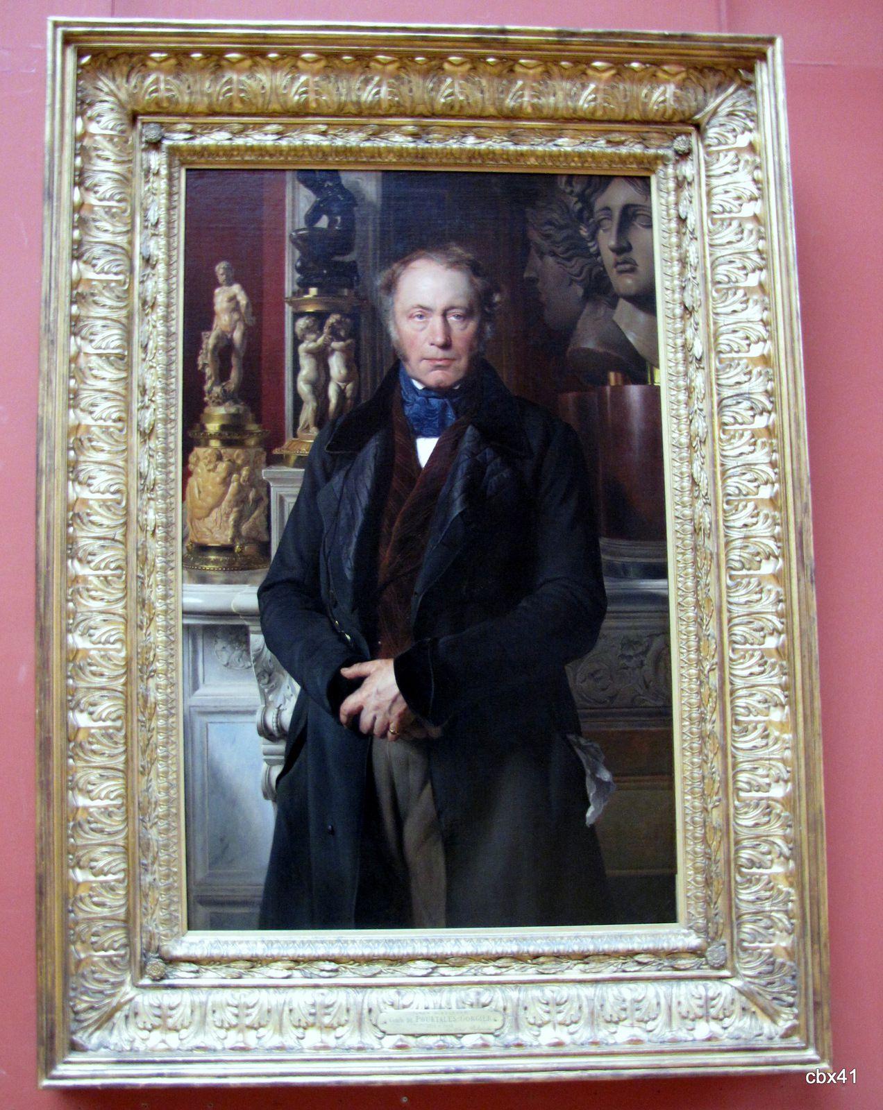 Paul Delaroche, Portrait du comte James-Alexandre de Pourtalès- Gorgier
