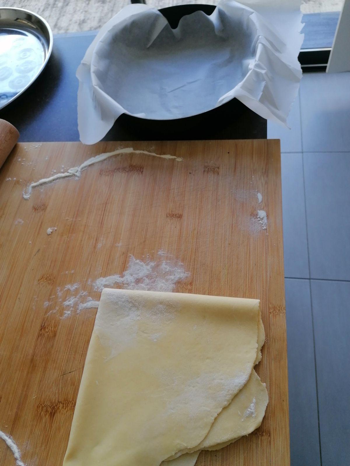 Quiche épaisse façon boulangerie
