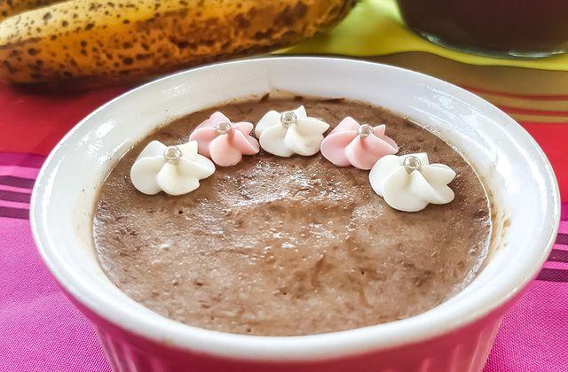 Glace banane - nutella