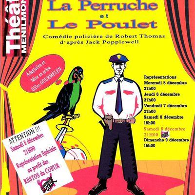 Samedi 8 Décembre à 21H, Représentation Spéciale Théâtre de Ménilmontant