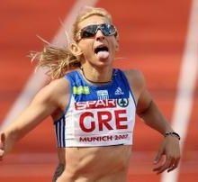 Athlétisme / la Grecque Fani Halkia contrôlée positive avant les JO