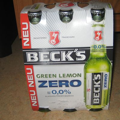 Becks Green Lemon Zero