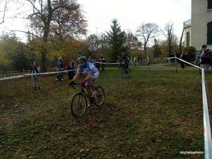 Cyclo-cross de Gémens le 18-11-2018