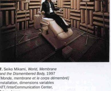 World. Membrane and the Dismembered Body @ S. Mikami. 1997