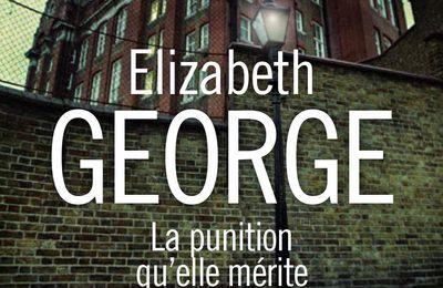 La punition qu'elle mérite, d'Elizabeth George