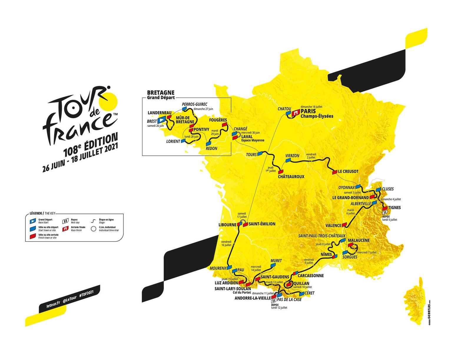 Gloire au Tour de France, gloire au Tour de France....