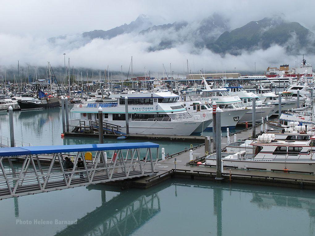 Marina au fond du fjord