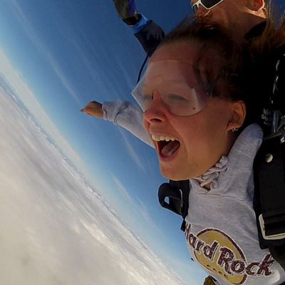 Skydiving!!♥ I´ve been UP IN THE AIR!!