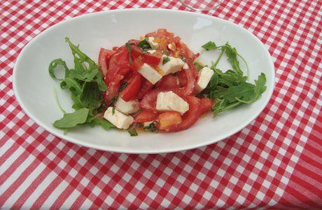 tomates- féta