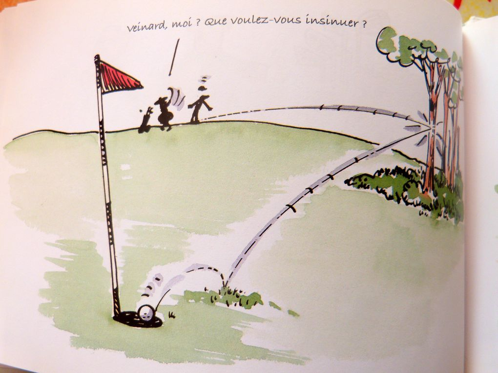extraits du monde fou du golf (Exley)