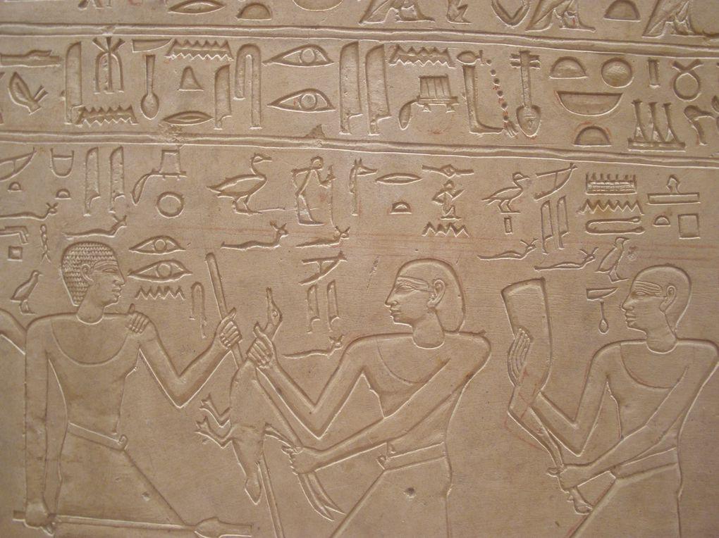 Stèle du chef des artisans, scribe et sculpteur Irtysen - C14  Règne de Montouhotep II V ème dynastie (2066 - 2014)