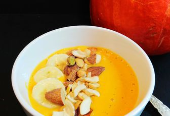 SMOOTHIE BOWL CITROUILLE BANANE