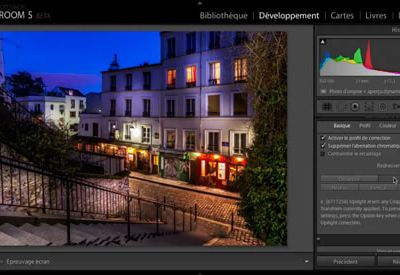 Lightroom : développer une photo