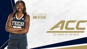 NCAA : Elisabeth Dixon élue Co-Rookie de la semaine