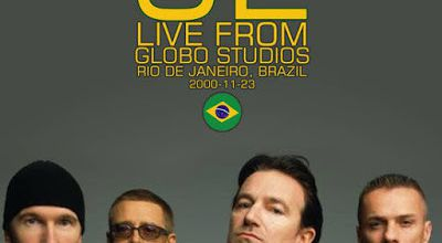 U2 -All that you can't leave behind Promo Tour, Rio de Janeiro, Brazil 23/11/2000