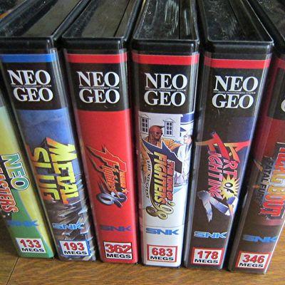Encore et toujours de la NEO GEO AES Euro Guillemot / US