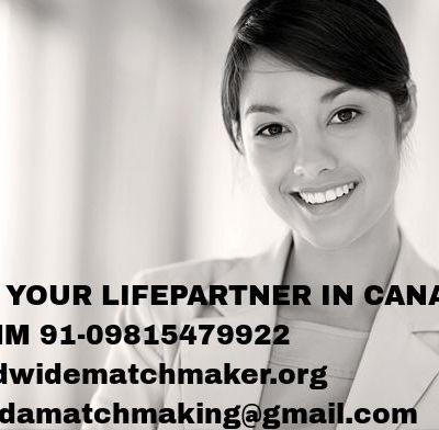 CANADA MATRIMONIAL CHANNEL 0091-9815479922 WWMM