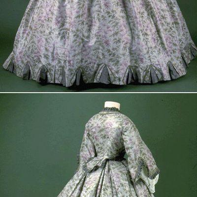 Crinoline d'après Janet Arnold Patterns of Fashion 2 - 1861/63