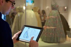 Fashion Rules: how tablets fit in to Kensington Palace's latest exhibition