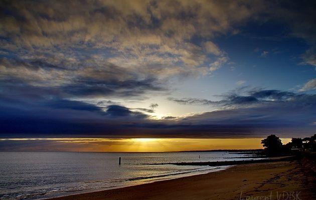 Deux couchers de soleil...