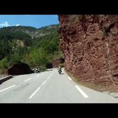 Goldwing unsersbande - Route gorges de Daluis