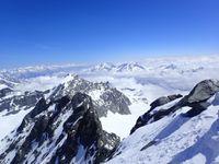Ski de rando : Rimpfischhorn 4199 m