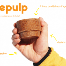 Repulp, la tasse en peaux d'orange - Rediffusion...