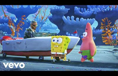 "Tainy, J Balvin - Agua (Music From ""Sponge On The Run"" Movie)"
