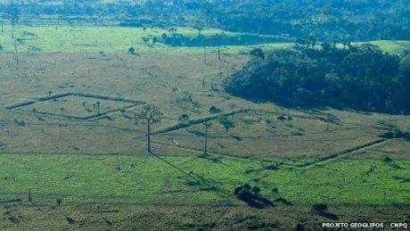 DES GEOGLYPHES DECOUVERTS EN AMAZONIE