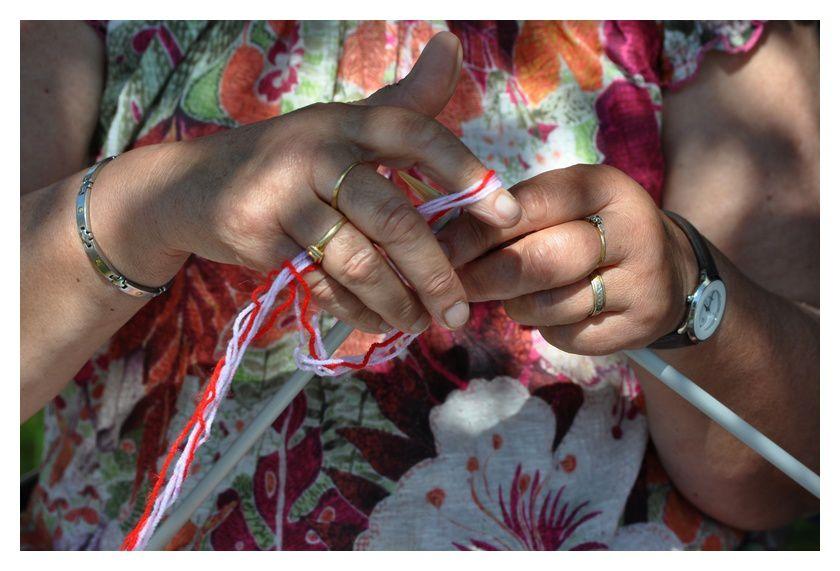 Fermanville : Journée mondiale du tricot